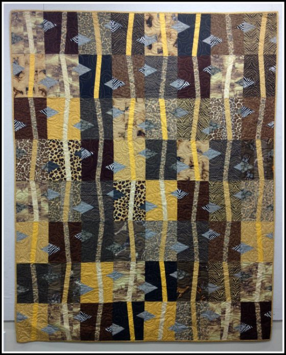 African Savannah - A Quilters Dream REVISED