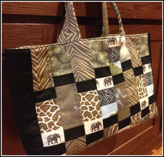 African Savannah Purse