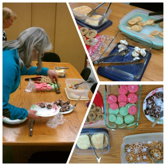 Cookie Exchange Collage