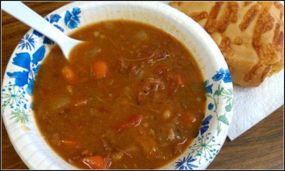 15 bean soup pic