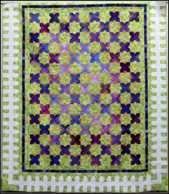 busy bees raffle quilt 2014