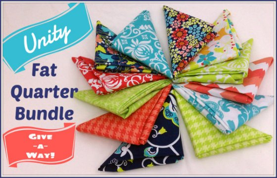 Unity Fat Quarter Bundle Giveaway