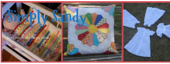simply sandy blog header
