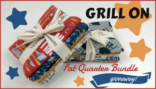Grill On Fat Quarter Bundle Giveaway