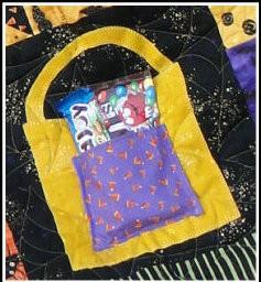 close up- treat bag