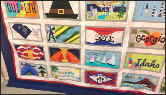 AMB license plate quilt 2