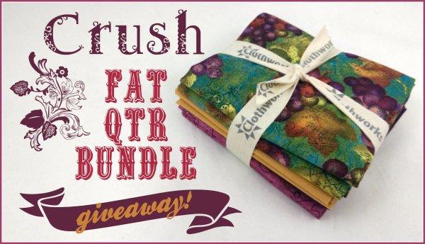 Crush Fat Quarter Bundle Giveaway