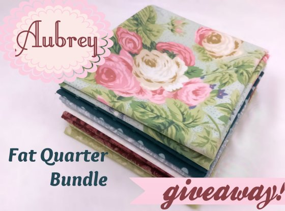 Aubrey Fat Quarter giveaway