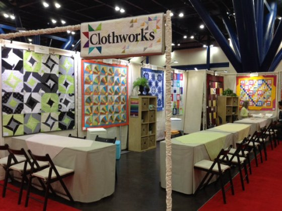 Clothworks Booth fall market