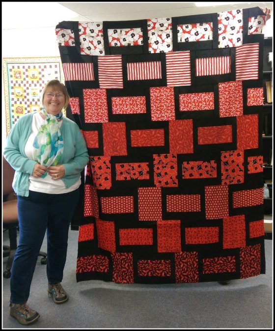 Gabe Poppies Quilt