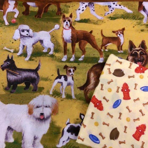 Dog park fabric