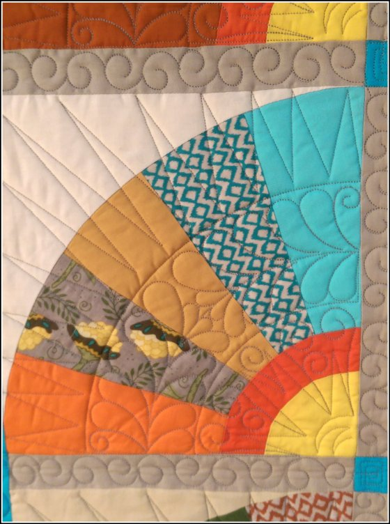 The Last Dance- Close up of Quilting