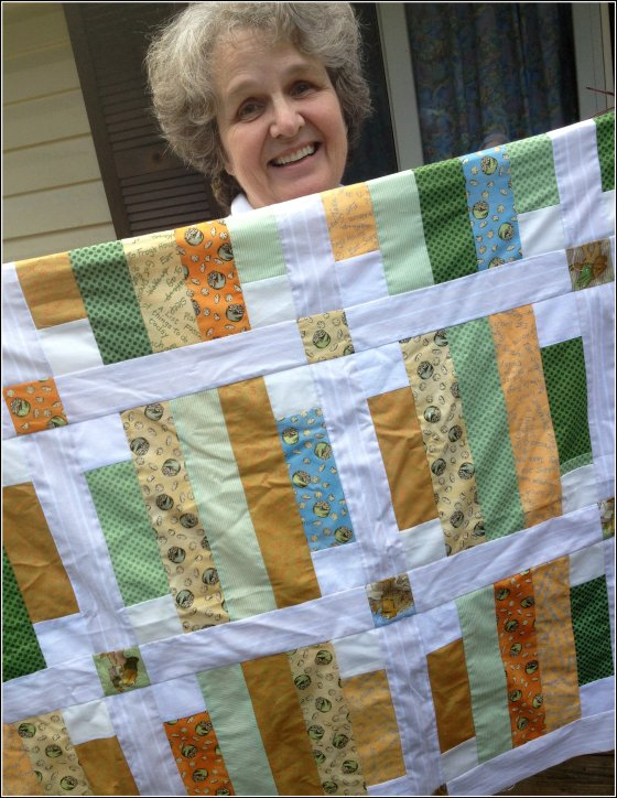Frog & Toad Charity Quilt