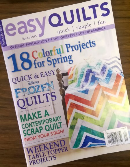 easy quilts spring 2015
