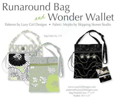 Runaround bag and Wonder wallet