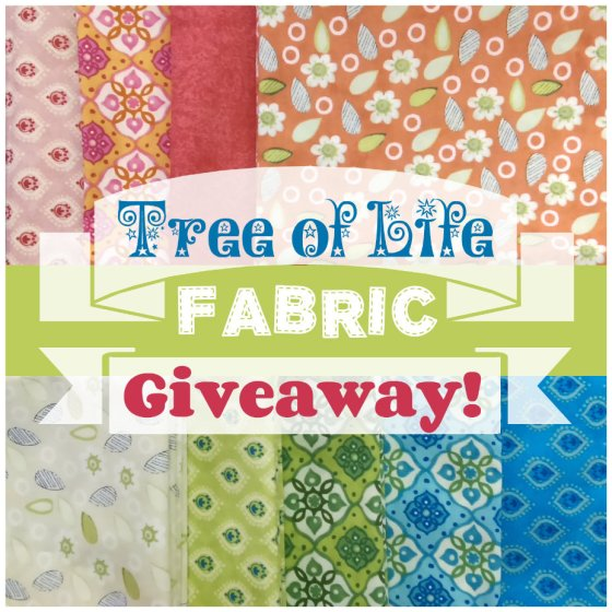 Tree of Life Fabric Giveaway