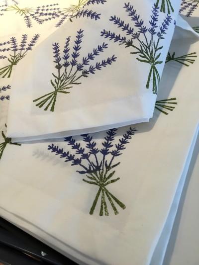 Sprig napkins