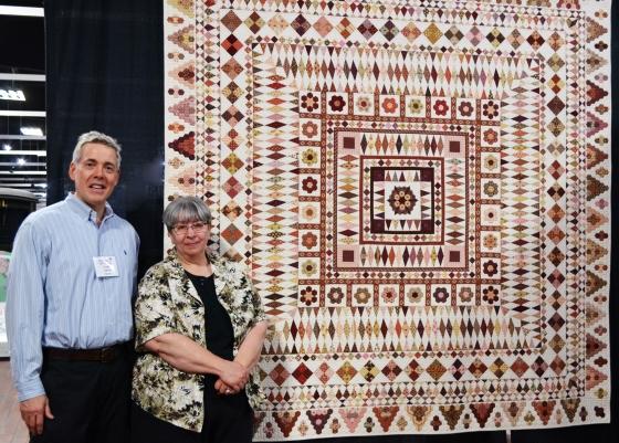 Clothworks Sponsors Award Winning Quilt At Shipshewana Quilt Fest