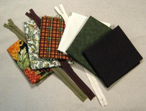 Fabrics & Zippers