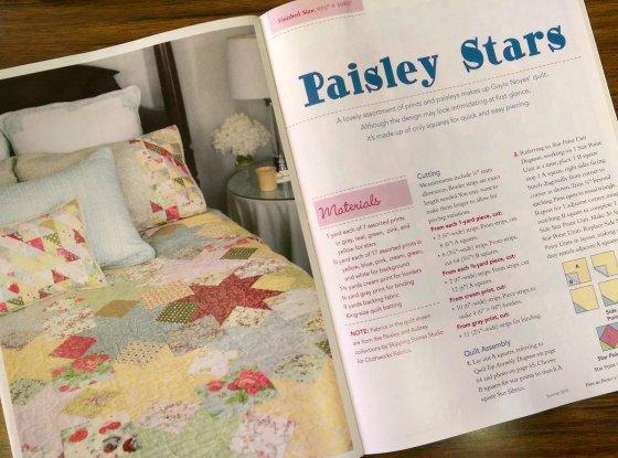Paisley Stars magazine spread