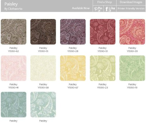 paisley swatches