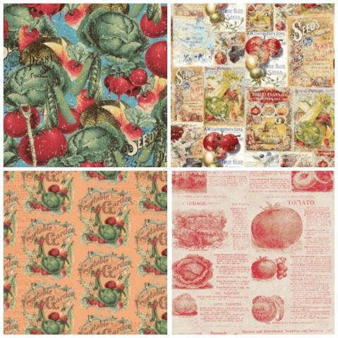Vintage Seedpackets Collage