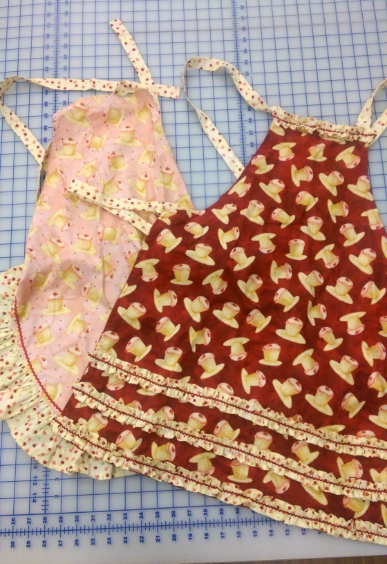 little girl aprons