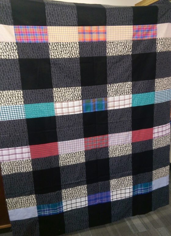 Oversized Check Quilt