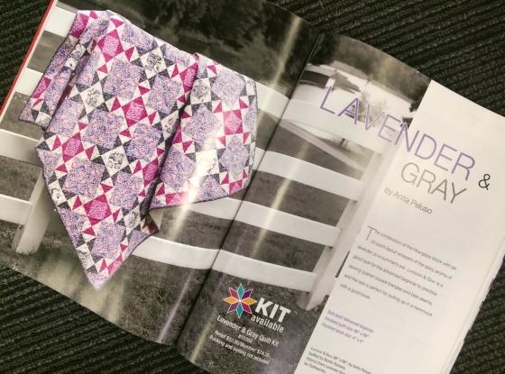 Lavender & Gray magazine
