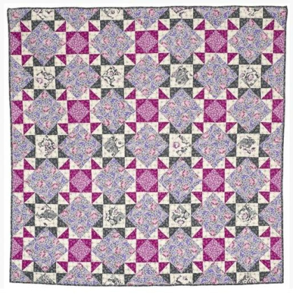 Lavender & Gray Quilt