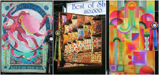 Award Winning Quilts Collage