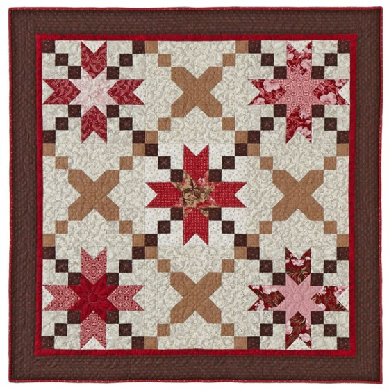 Based on a quilt designed by Corey Yoder of Coriander Quilts. Used with permission from American Patchwork & Quilting&#174 magazine. &#169 2016 Meredith Corporation. All Rights Reserved