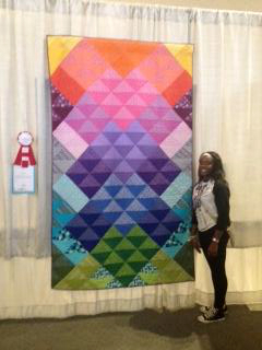 tiny quilt challenge quiltcon winner