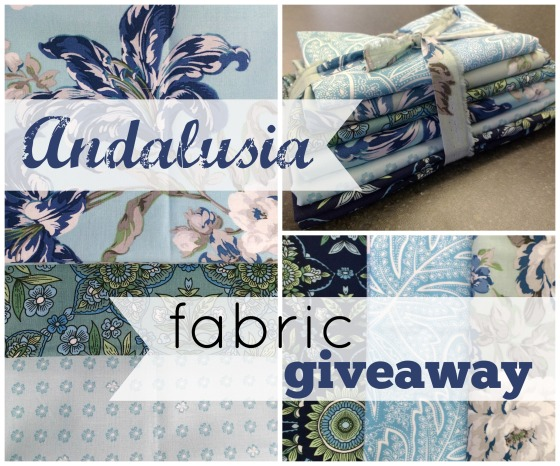 Andalusia Fabric Giveaway