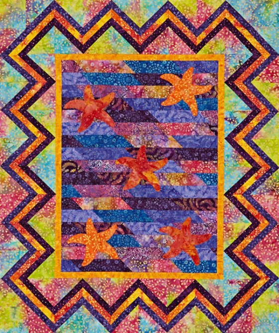 Based on a design by Marcia Harmening. Used with permission from American Patchwork & Quilting magazine. 2016 Meredith Corporation. All Rights Reserved.