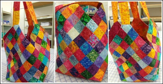 Collage Batik Bag
