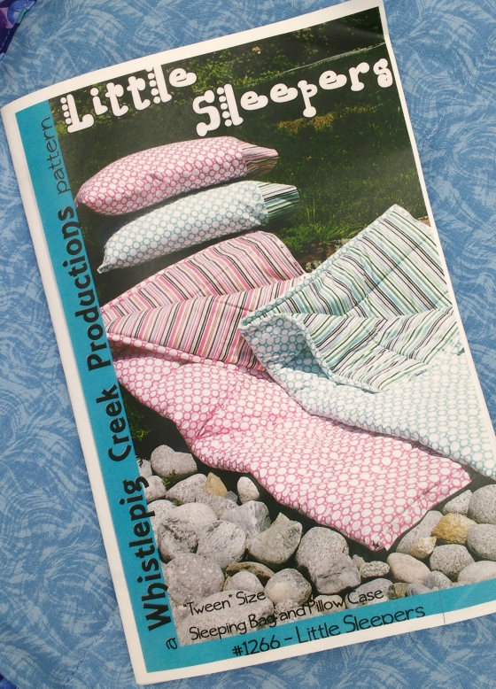 Sleeping Bag pattern cover