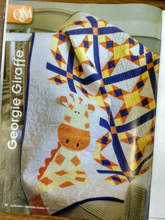 Georgie Giraffe Quilt