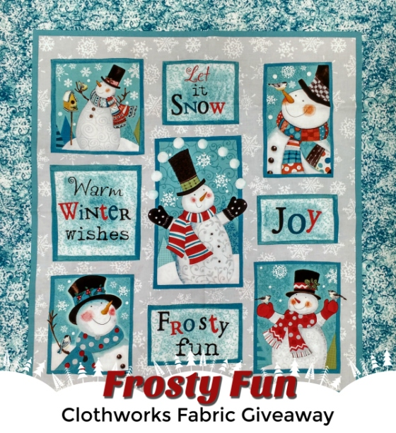 frosty fun giveaway
