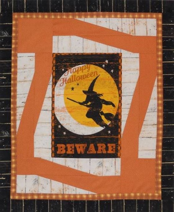 Jeepers Creepers- Frames Quilt Pattern