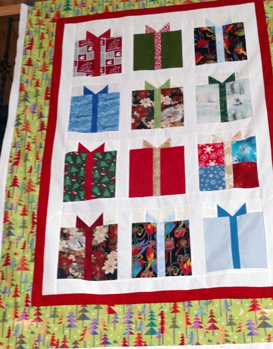package block quilt ufo Tina