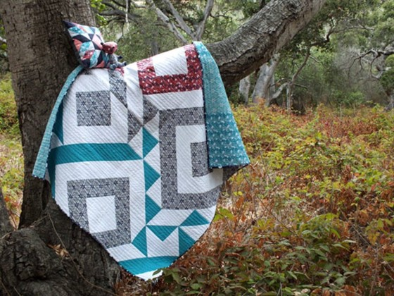 cherry-mint-quilt-pillow-quilt-teddy-bear