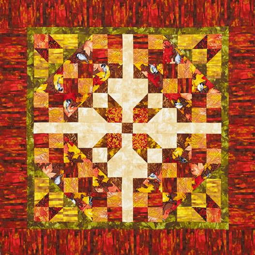 Based on a design by Kate Colleran. Used with permission from American Patchwork & Quilting magazine. 2016 Meredith Corporation. All Rights Reserved.