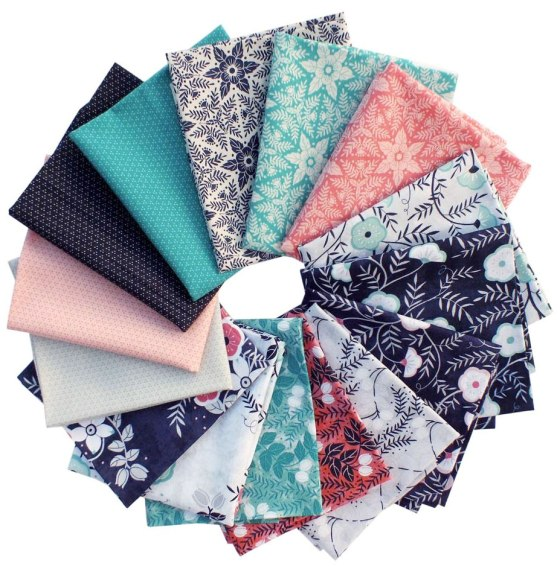 Cherry Mint Fat Quarters- just one of the prizes in the Suzy Quilts Giveaway!