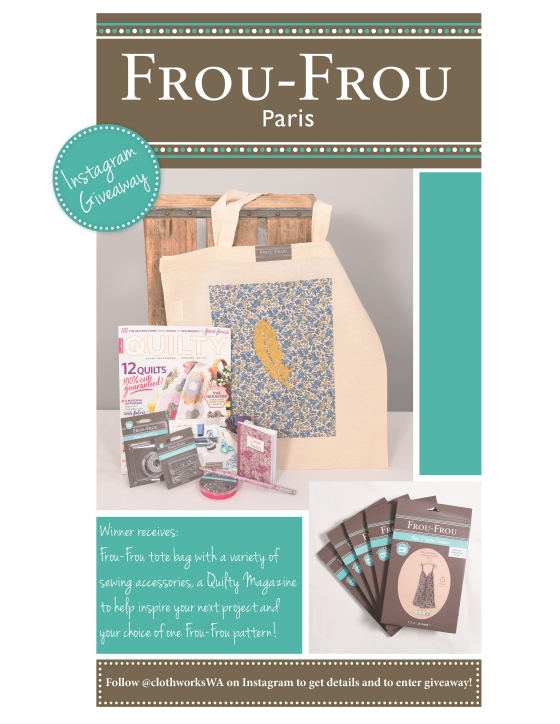Frou Frou Giveaway